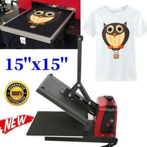 Heat Press Machine Paper vinyl Transfer Printer Mat Diy T shirt