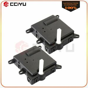Pair A C Heater Air Blend Door Actuator Xf1h19e616ab For Ford Explorer Vent Mode