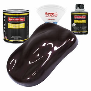 Restoration Shop Black Cherry Pearl Acrylic Enamel Quart Kit Auto Paint