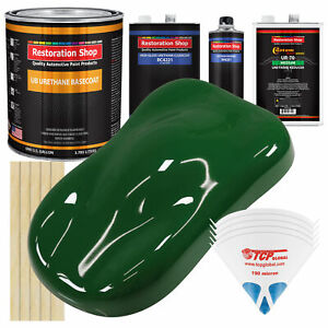 Speed Green Gallon Urethane Basecoat Clearcoat Car Auto Paint Kit