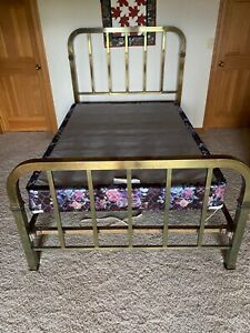 100 Year Old Brass Bed