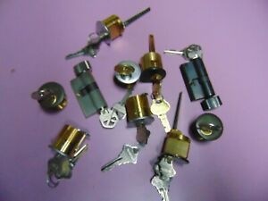 10 Mortise Rim And Storm Door Locks Cylinders All With Key Locksmith