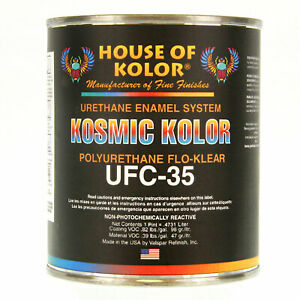 1 Pint Kosmic Acrylic Urethane Flo Klear House Of Kolor Hok Topcoat Clear