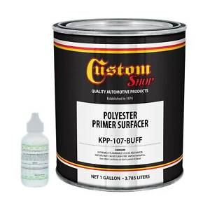 Gallon Buff Polyester Primer Filler Surfacer Auto Paint