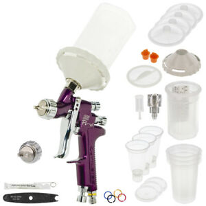Devilbiss Sripro Sri Hvlp Spot Repair Touch Up Spray Gun 1 0mm Dekups Detail Cup