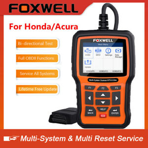 All System Auto Scanner Obdii Diagnostic Tool Abs Sas Tpms Dpf Reset For Honda