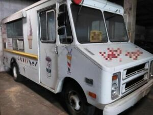 All Aluminum Vintage 1977 Chevrolet Step Van Ice Cream Truck For Sale In Pennsyl