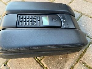 Bmw E38 E39 Rare Black Leather Armrest With Cordless Bmw Phone