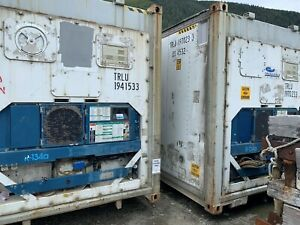 40 Hc Refrigerated Container Ketchikan Alaska