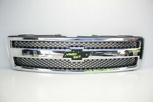 2007 2008 2009 2010 2011 2012 2013 Chevy Silverado Grille Oem Used