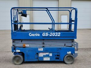 2014 Genie Gs 2032 Electric Slab Scissor Lift Genie Jlg Skyjack Dealer 32 Wide