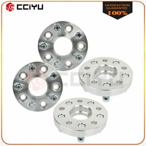 4x 1 Thick 5x4 75 Wheel Spacers 14x1 5 Studs For Chevrolet Camaro Buick