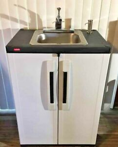Portable Sink Nsf Mobile Handwash Self Contained Hot Water Concession