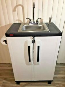 Portable Sink Mobile Handwash Self Contained Hot Water Concession Elkay
