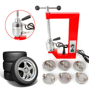Tire Repair Machine Vulcanizer Vulcanizing Equipment Heavy Duty100 80mm Us Ship