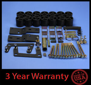 1998 2000 Ford Ranger 3 Full Body Lift Kit Front Rear steering Extend