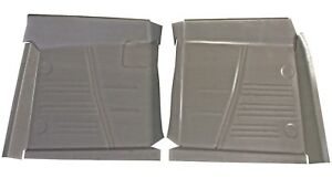 1961 1962 1963 1964 Chevrolet Impala Bel Air Front Floor Pans New Pair