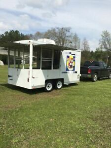 2002 Wells Cargo Street Food Vending Concession Trailer For Sale In Louisiana