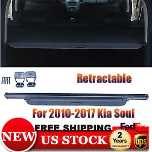 Trunk Cargo Luggage Security Shade Cover Shield For 2010 2017 Kia Soul Hotsale