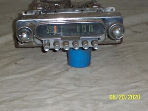1949 Ford 8 Tube Zenith Push Button Radio For Core