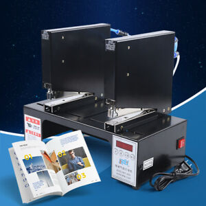 80 Times min Induction Double head Pneumatic Stapler Binding Package Sale
