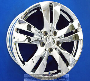Mercedes E350 Coupe 17 Inch Chrome Wheel Exchange E 350 17 Rims Staggered
