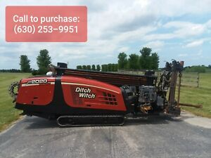2007 Ditch Witch 2020 Mach I Directional Boring Machine Drill Only 2 056 Hours