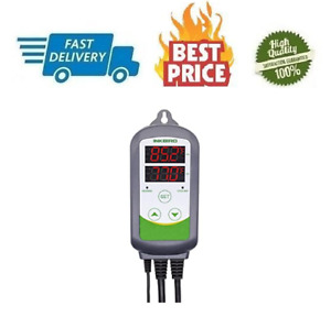 10a 110v Digital Thermostat Temperature Controller With Heat And Cool Relays