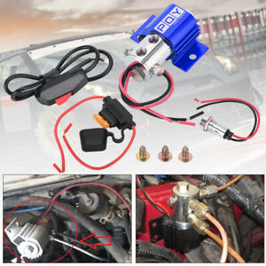 Pqy Universal Electric Brake Line Lock Hill Holder Roll Control Solenoid Kit