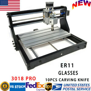 Usb Cnc3018pro Diy Laser Engraving Machine Kit Pcb Wood Engraver Grbl Control Us