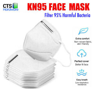 1 5 20 100 Pcs Kn95 Ce Certified 5 layers Face Mask Ffp2 Bfe 95 Respirator