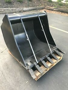 New 36 Wain Roy Style Backhoe Bucket To Fit 1 4 Yd Coupler