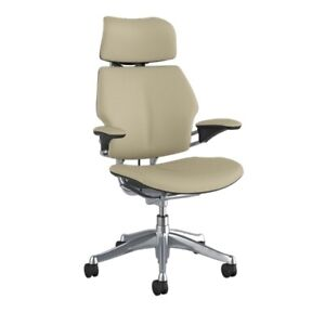 Humanscale Freedom Chair With Headrest Corvara Leather