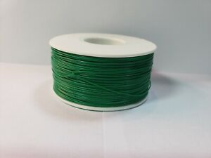 30 Awg Gauge Stranded Wire Green 25 Ft loose 0 0100 600 Volts Usa Sold ship