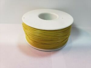30 Awg Gauge Stranded Wire Yellow 25 Ft loose 0 0100 600 Volts Usa Sold ship