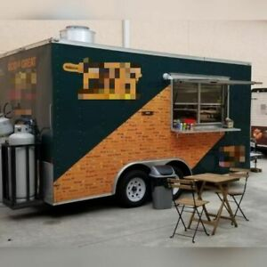 Loaded 2017 8 X 18 Lark Food Concession Trailer With Pro Fire Suppression Fo
