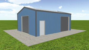Steel Building 24x30 Simpson Metal Building Kit Garage Workshop Prefab Structure