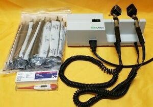 Welchallyn 767 Wall Transformer W otoscope opthalmoscope ear Specula thermometer