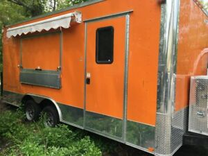 2017 Freedom Food Concession Trailer Loaded Mobile Commercial Kitchen For Sale