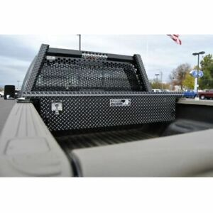 Highway Products 3322 001 Bk62 Low Profile Tool Box With Black Diamond Plate New