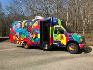 Ford E55 Party Bus Used Mobile Entertainment Vehicle For Sale In Tennessee