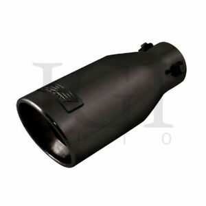 Dc Sports Universal Clamp On Muffler Tip 2 7 8 Inlet 3 3 4 Outlet 9 Long