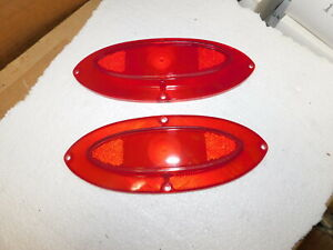 A Pair Of 1962 Olds Tail Light Lenses C 5