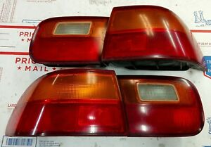 92 93 94 95 Civic Ex 2dr Tail Lights Eg Ej1 Dx Stanley Oem Coupe Inner Outer Ej