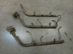 Ford Flathead V8 Spark Plug Wire Tube Looms Two Pair