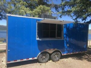 Pristine Cargo Craft 8 5 X 20 Lightly Used Street Food Concession Trailer For