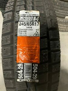 1 New 245 65 17 Cooper Discoverer M S Snow Tire