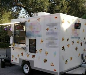 2019 8 X 10 Pizza Concession Trailer Mobile Pizza Shop For Sale In Florida
