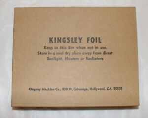 24 Count Vintage Kingsley Foil Hot Stamping Foil Green Red Black Free Shipping