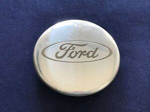 Ford Focus Oem Wheel Center Cap Polished Machined 98ab1000aa All Tabs Intact